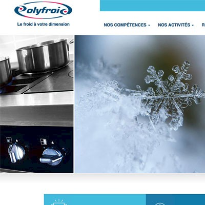 Nouvelle version du site Polyfroid